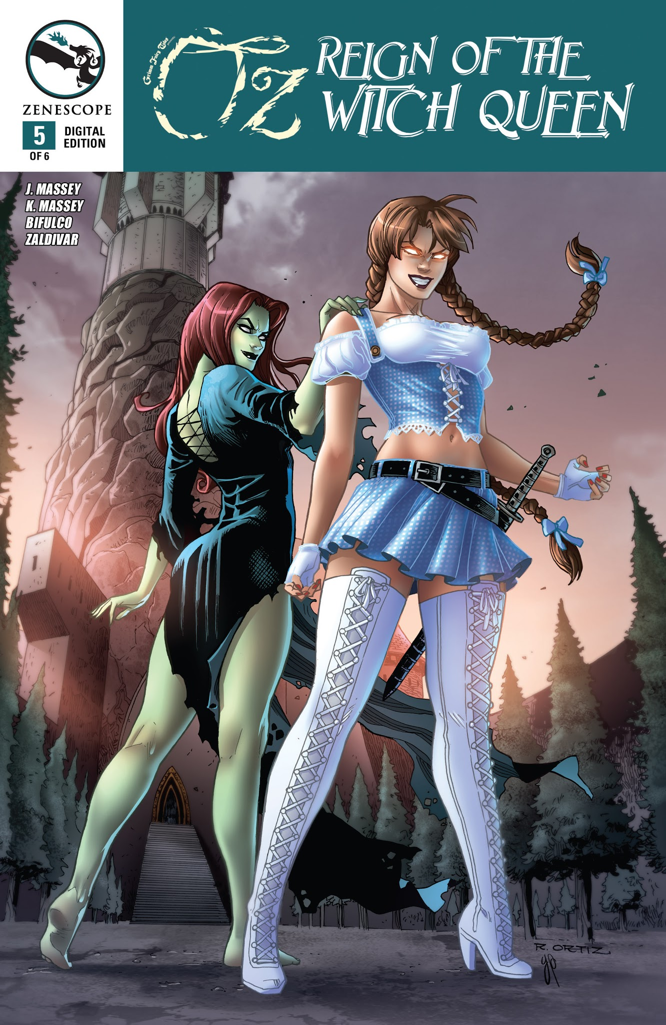 Grimm Fairy Tales presents Oz: Reign of the Witch Queen 5 Page 1
