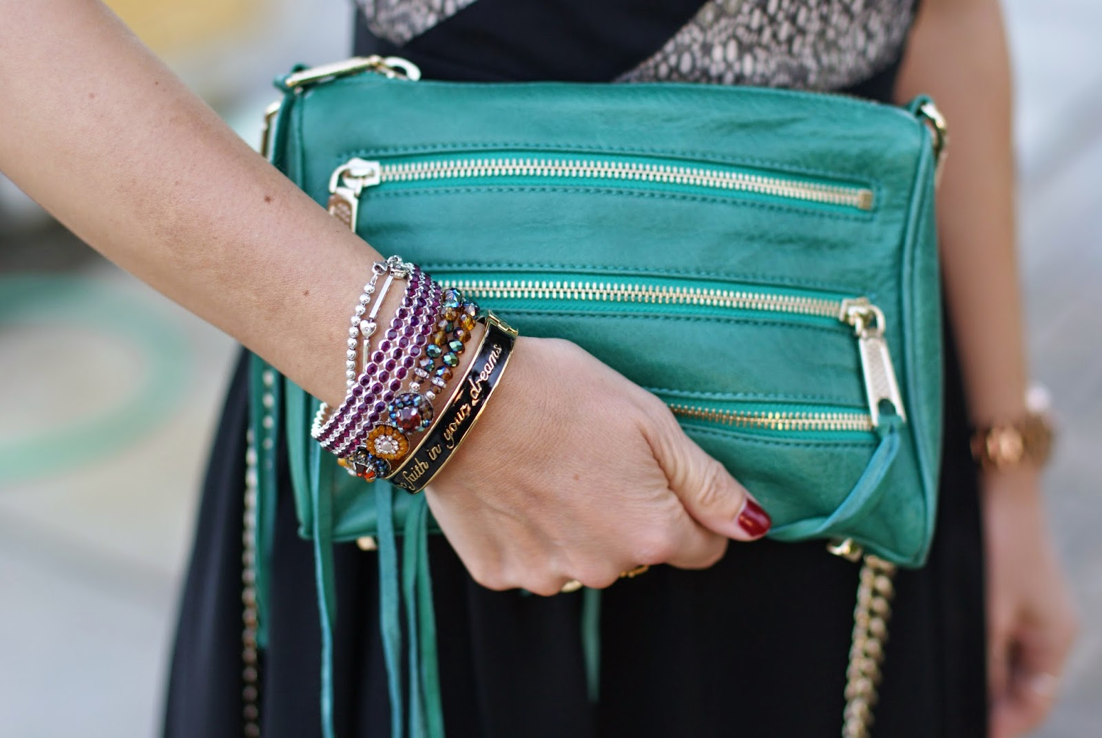 Rebecca Minkoff 5 zip bag, Luca Barra gioielli, Sodini bracciale, Fashion and Cookies, fashion blogger