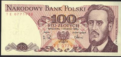 Polonia 100 Zlotych 1988 P# 143e