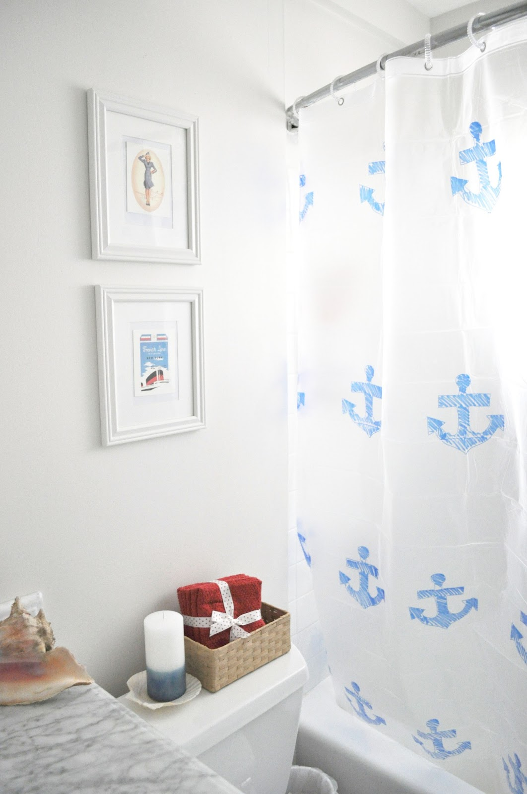 16 diy nautical home decor the weekly round up the. Black Bedroom Furniture Sets. Home Design Ideas