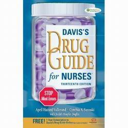 Davis drug guide for nurses apa citation