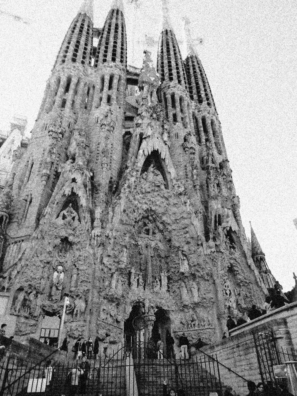 Pienso luego visto barcelona en blanco y negro - Familias en blanco y negro ...