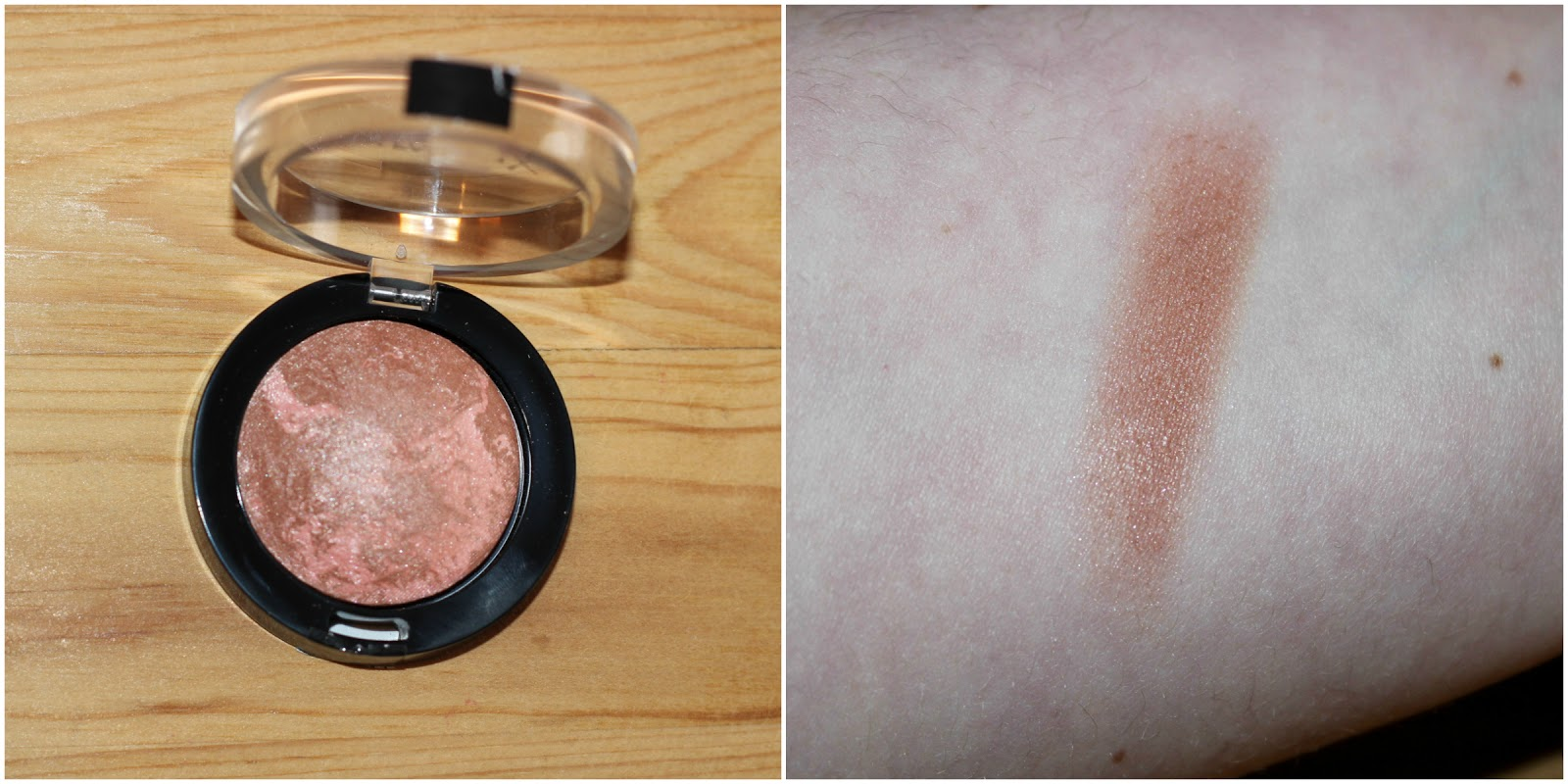Maxfactor Creme Puff Blush In Nude Mauve Swatch