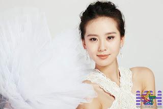 Pretty chinese actress Liu Shi SHi