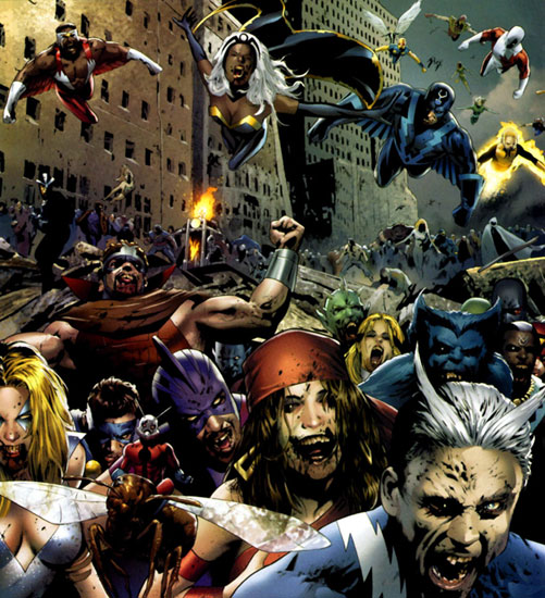 Nikochan Comics Marvel Zombies Tu Blog Sobre El Mundo Del Comic