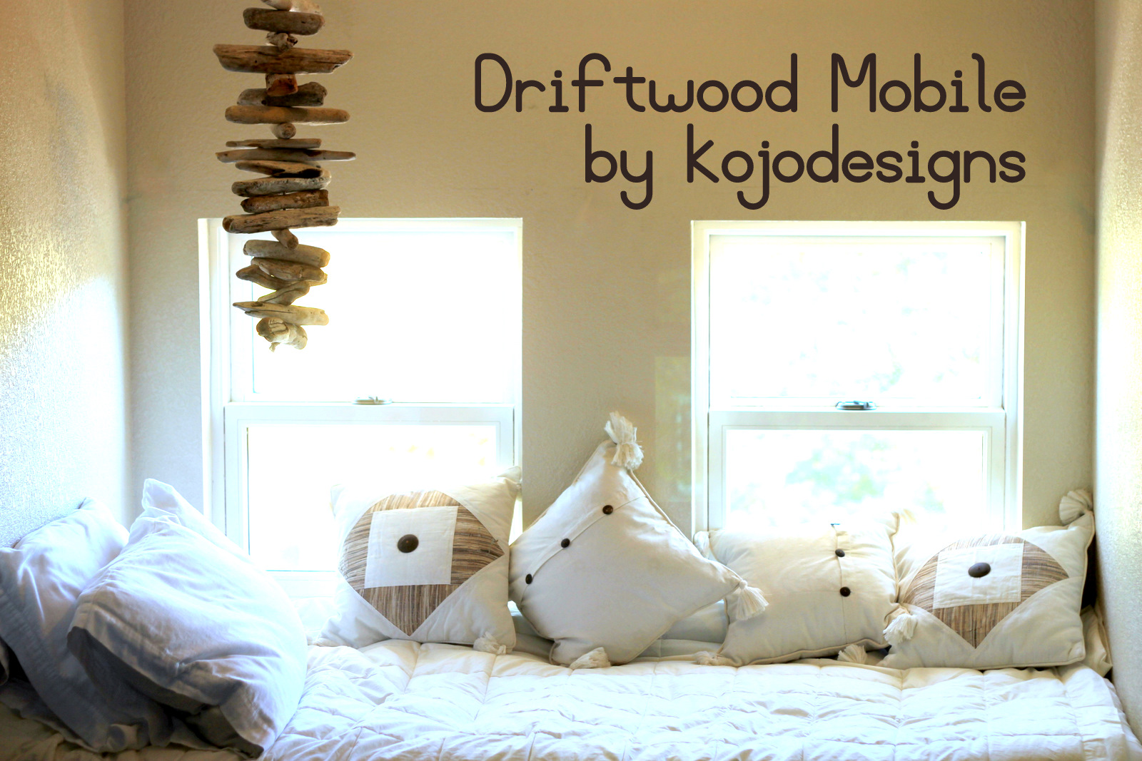 How to make a driftwood mobile for Driftwood crafts to make