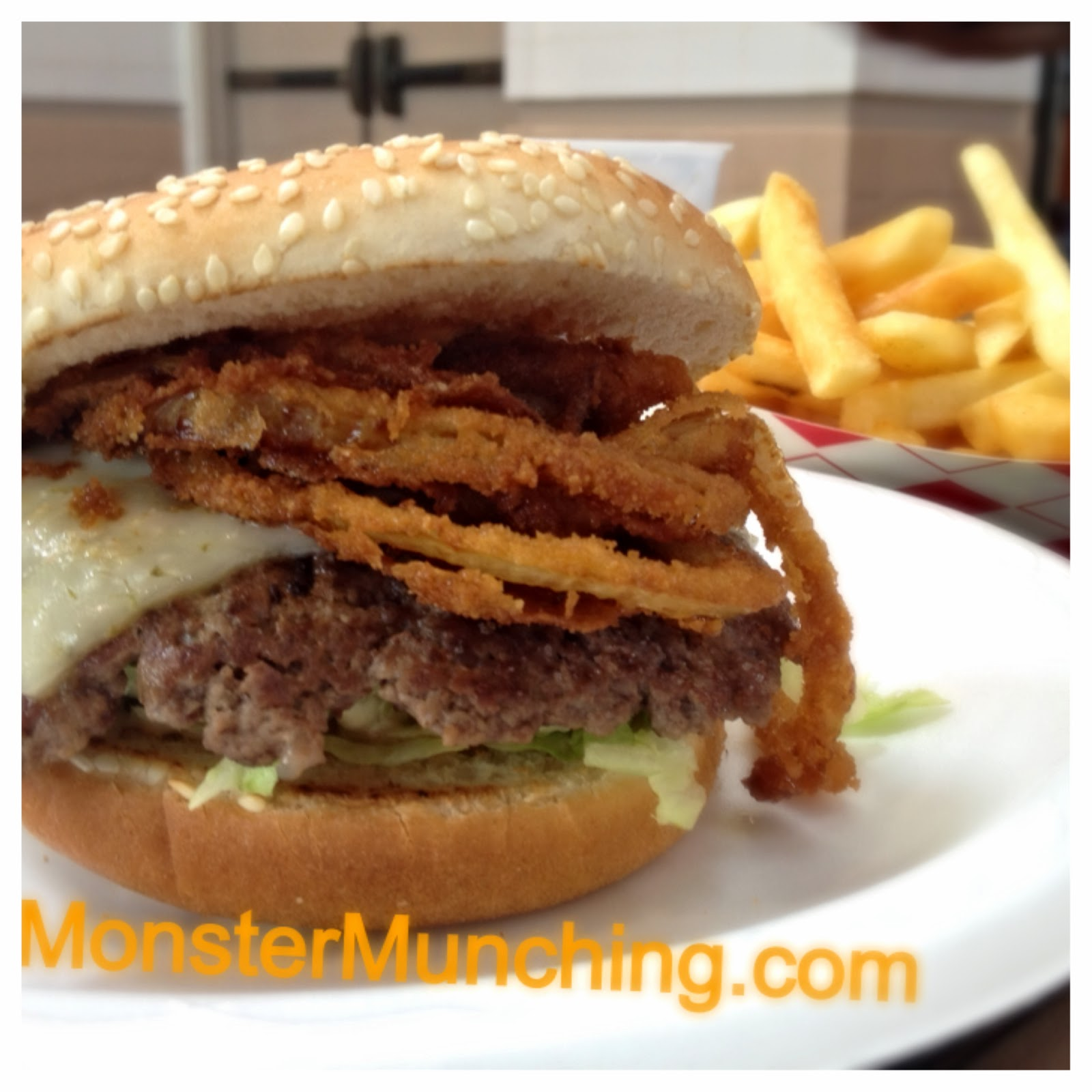 Monster Munching: Gourmet Burgers - Irvine
