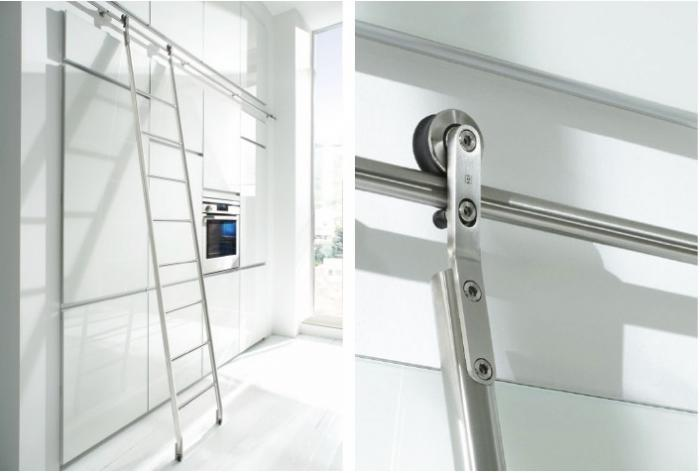 A Somewhat US Biased Article On Library Ladders Used For Kitchens But  Interesting None The Less. We Have Not Done Many Library Ladders But The  Request Comes ...