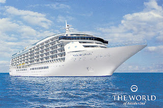 The World of Residensea Cruise Line Arrives in New York
