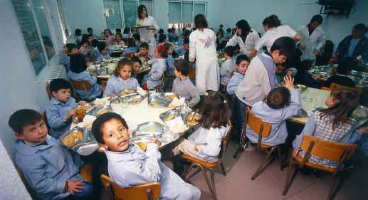 Comedores infantiles en la ciudad de La Plata
