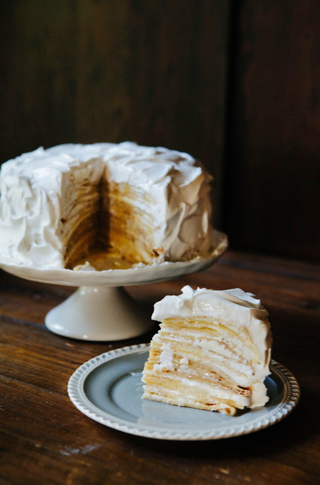 Coconut Cream Crepe Cake - hummingbird high || a desserts and baking ...