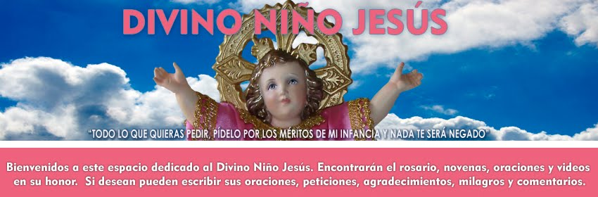 ORACIONES AL DIVINO NIÑO JESÚS