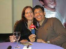 Con Johnny Lozada