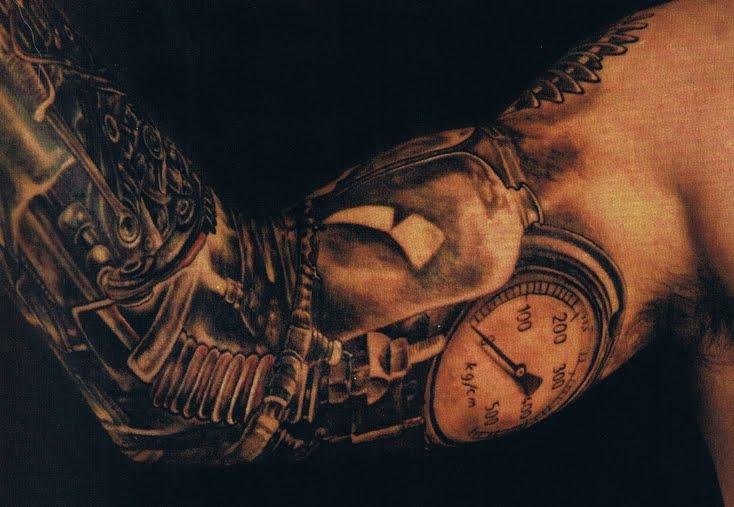 sleeve tattoos 3d biomechanical sleeve tattoos gallery. Black Bedroom Furniture Sets. Home Design Ideas