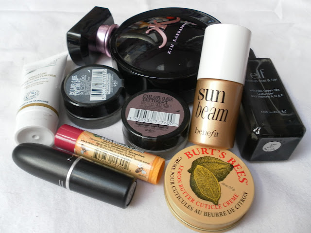 A picture of beauty products