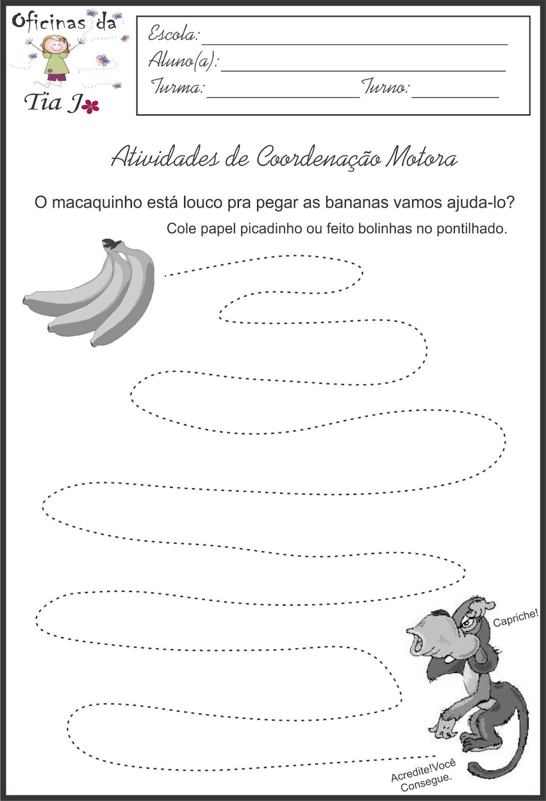 Excepcional Coordenação motora fina | Jossandra Barbosa TL92