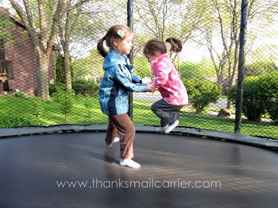 two person trampoline