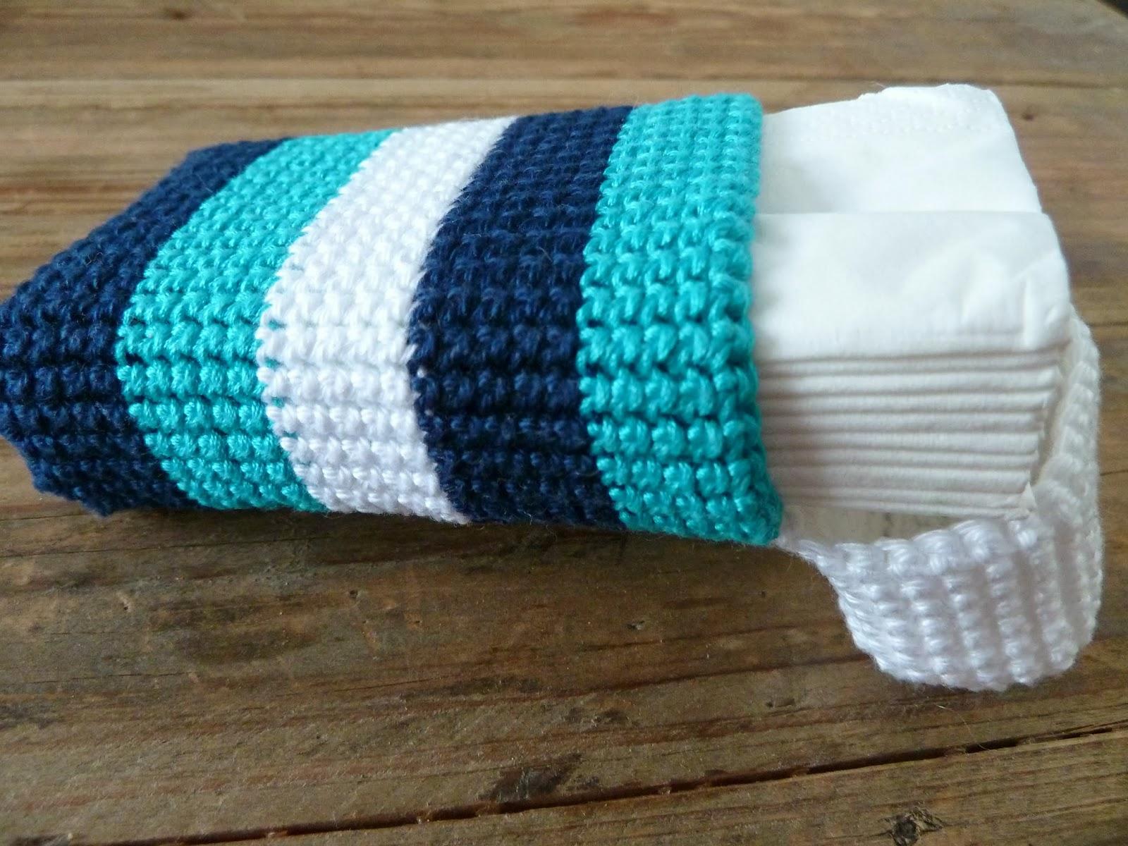 Pigocro: Gehäkelte Taschentuch-Tasche