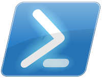 PowerShell logo as a regular image