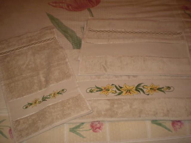 Cenefas de punto cruz para toallas pictures - Cenefas para pared ...
