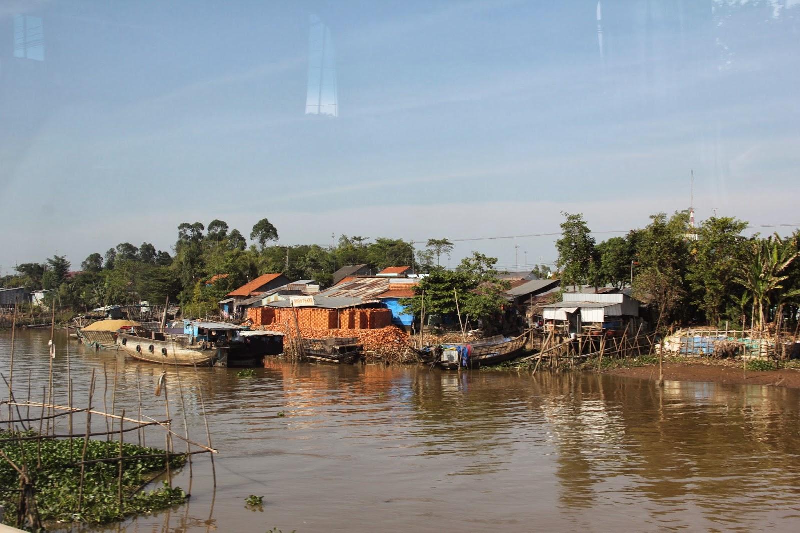 A riverside brickyard in southern Vietnam.