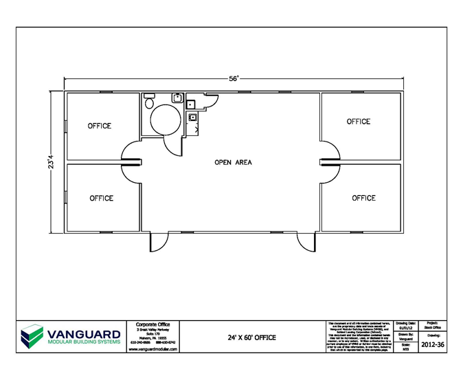 Small office plans Small building plan