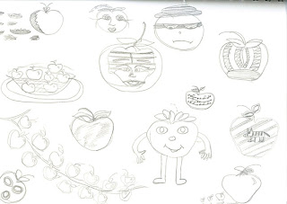 APPLE DRAW