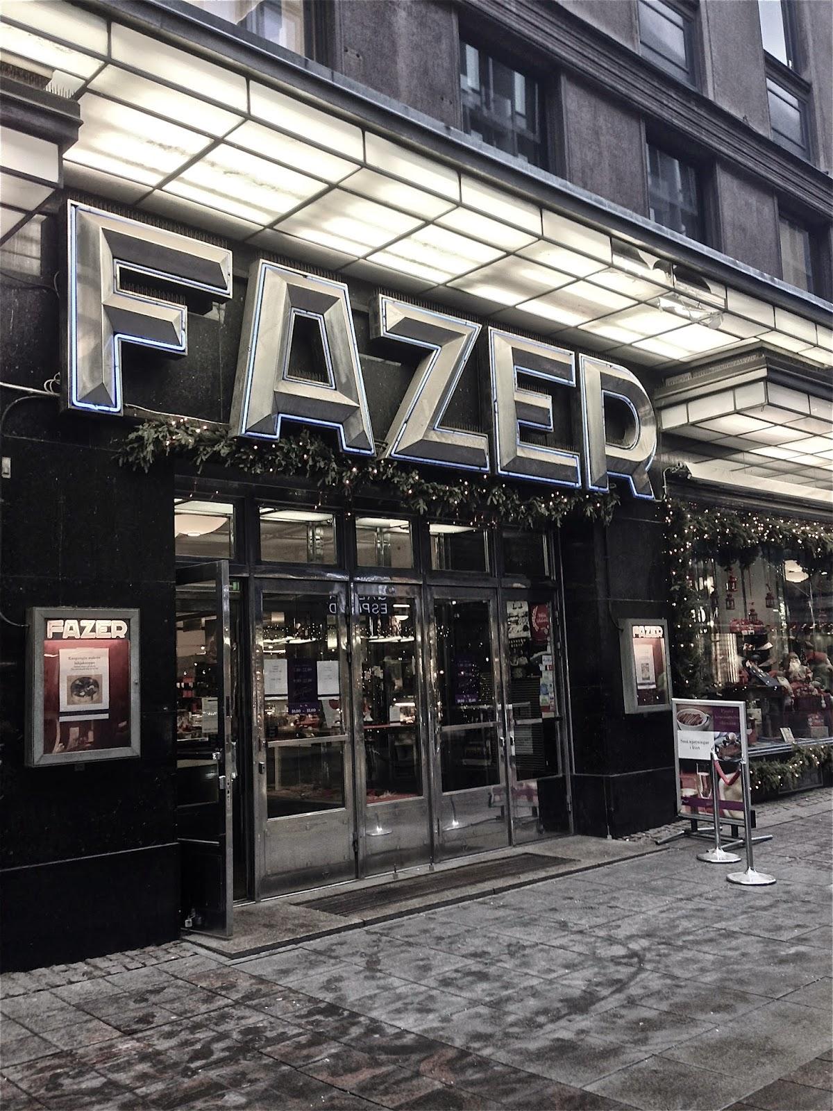 Fazer, Karl Fazer, Kluuvikatu, Glogatan, Café, Shop