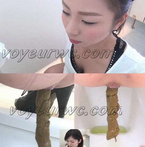[FF-057] Girls pooping in public Tokyo toilets