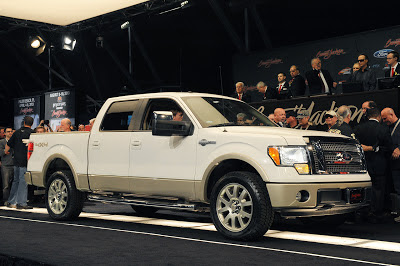 Auctions: George W. Bush's 2009 Ford F-150 fizzles with $300,000 bid at Barrett-Jackson