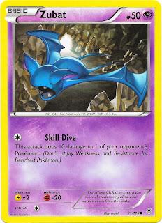 Zubat Phantom Forces Pokemon Card