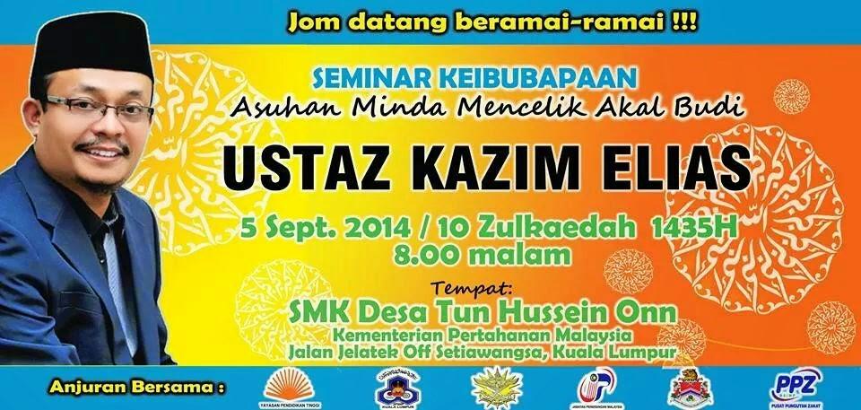 Ceramah Ustaz Kazim