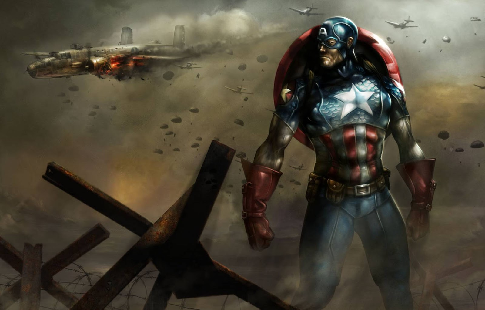 Cool Captain America Wallpaper HD