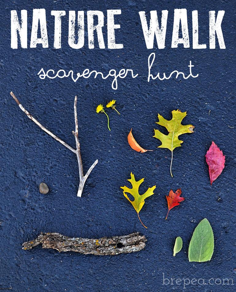 Fall Nature Scavenger Walk