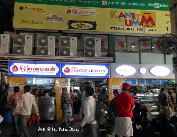 Hotel Sarvanna Bhavan, Chennai Central Railway Station, Tamil Nadu