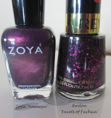 Zoya and Revlon Nail Polish
