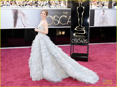 amy adams darren le gallo oscars 2013 red carpet 03 Mega Photo Collection From The Oscars 2013