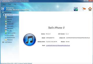 Download iTunes Backup Extractor