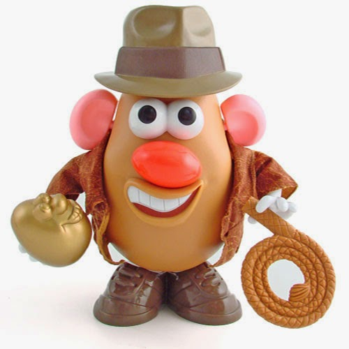 Mr. Potato Indiana Jones