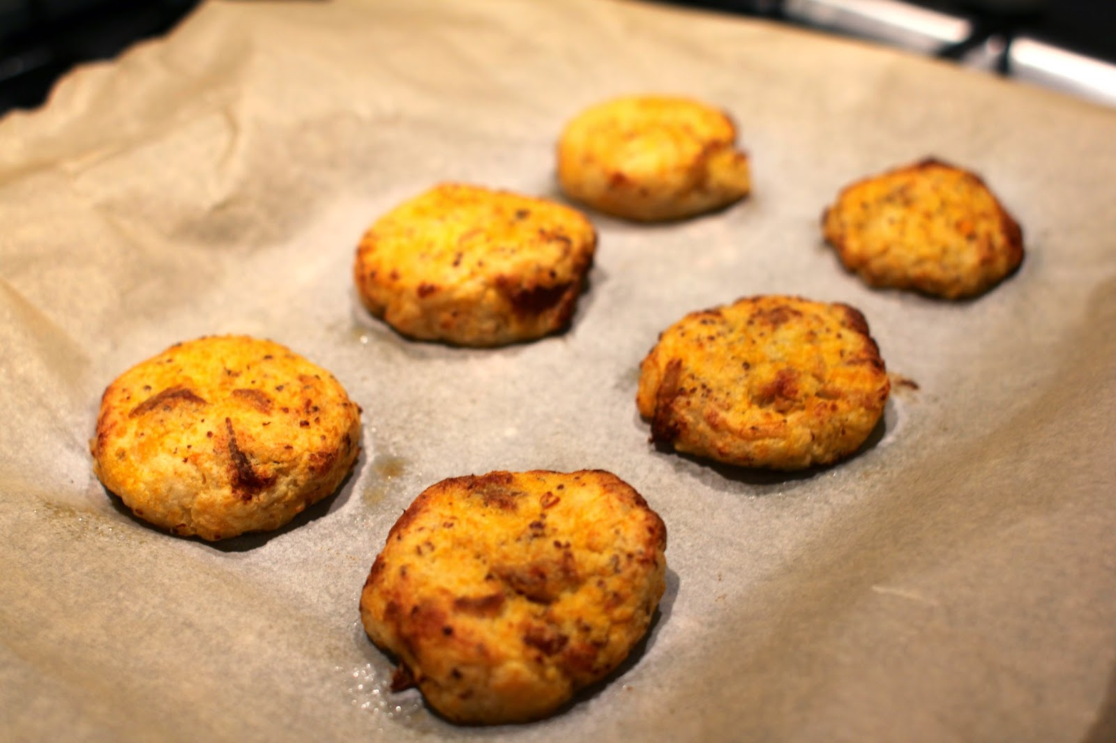 baked fish cakes