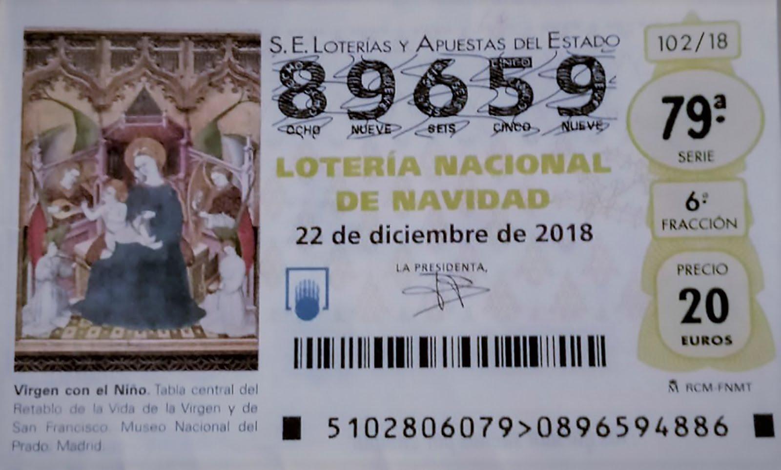 NUESTRA LOTERIA DE NAVIDAD