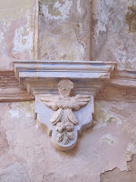 arco iglesia abandonada l'estall