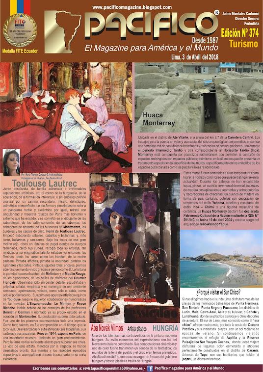 Revista Pacifico Nº 374 Turismo
