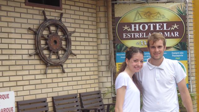 Hotel Estrela do Mar, Penha, Santa Catarina, parque de diversão, dicas beto carrero, aeroporto navegantes, Navegantes