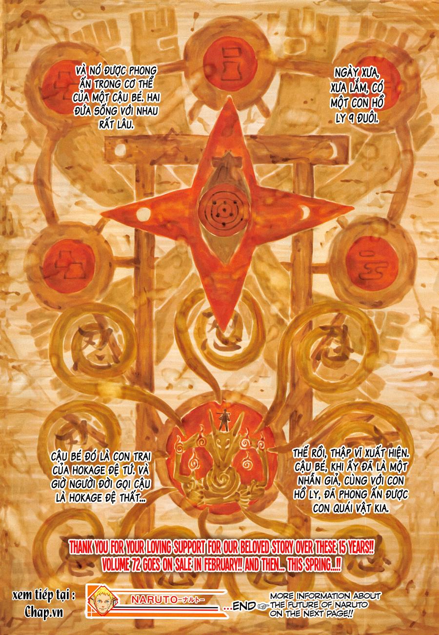 Naruto chap 700 – Chap cuối Trang 22