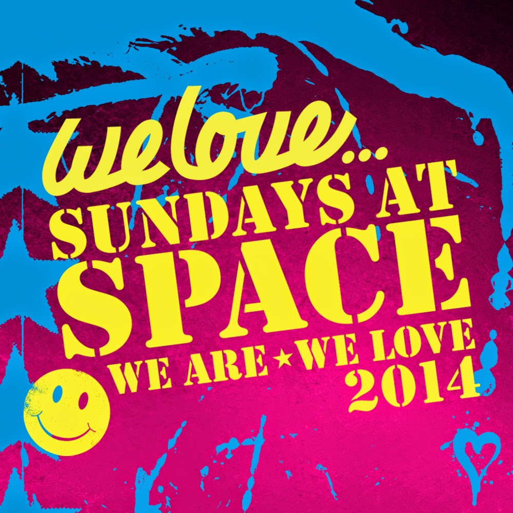 We Love Sundays At Space 2014 August