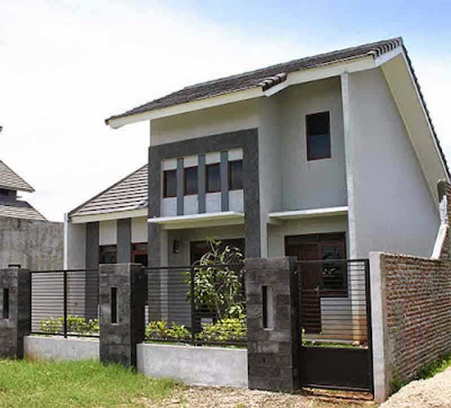 Desain rumah minimalis type 21 2 lantai