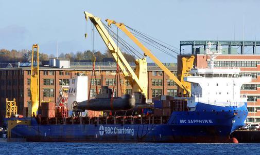 ФРГ поставила Колумбии две подводные лодки тип 206