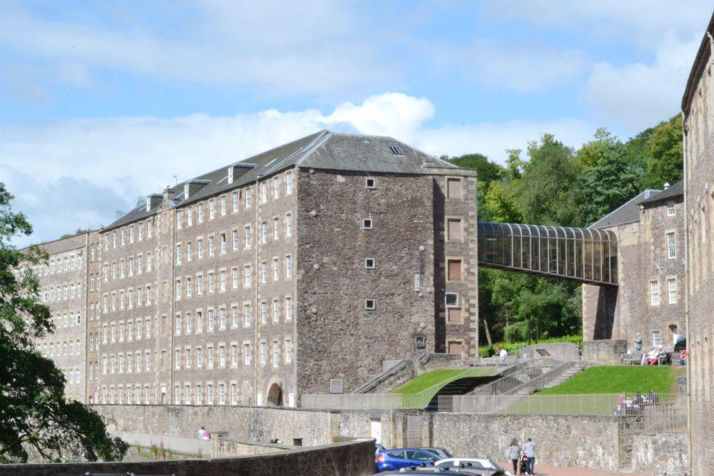 new lanark falls of clyde mill
