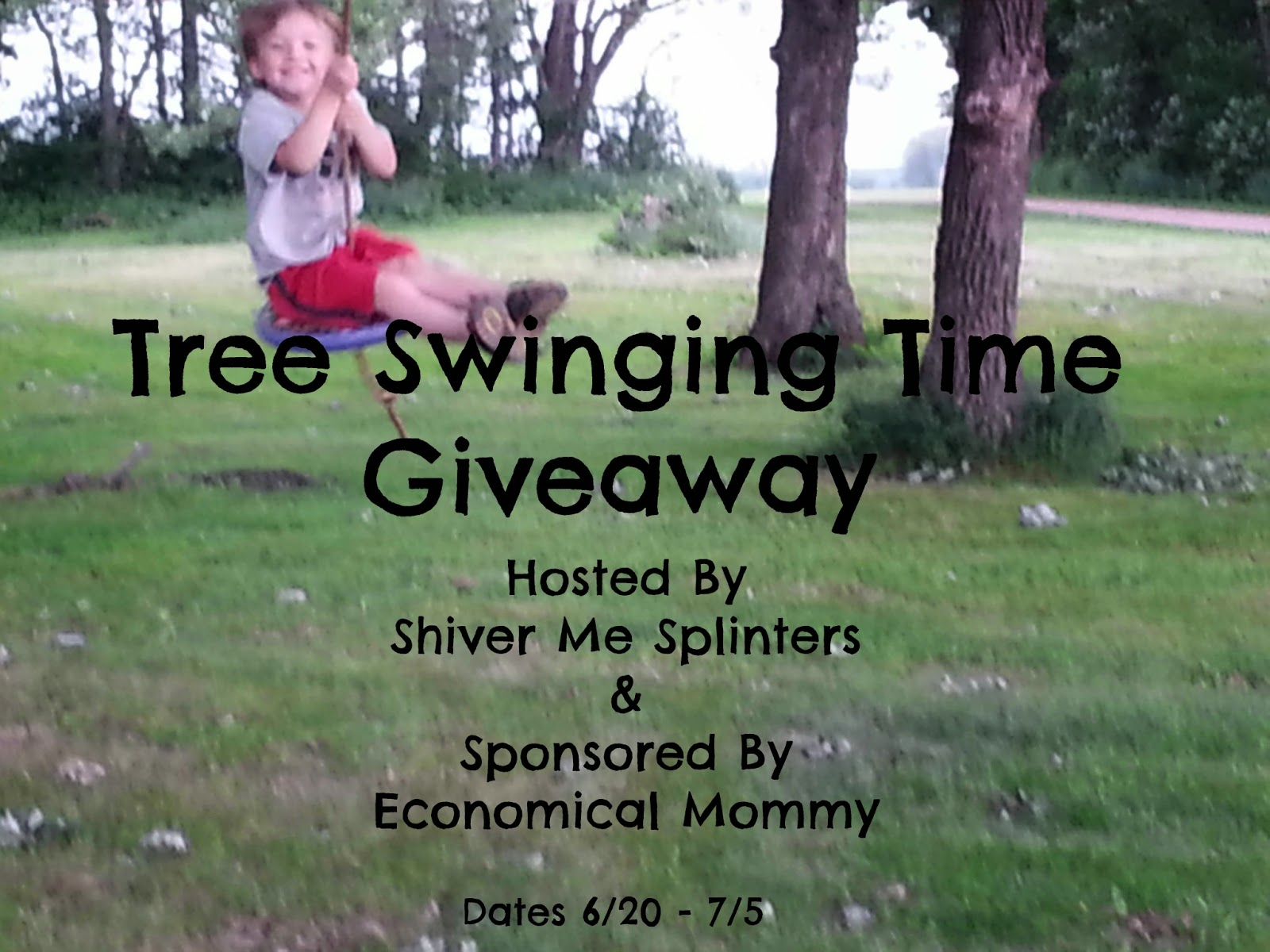 Shiver Me Splinters - Tree Swing Giveaway